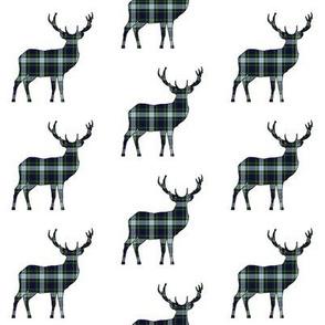Tartan Deer // Clan MacKenzie