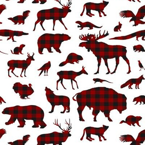 Buffalo Plaid Animals