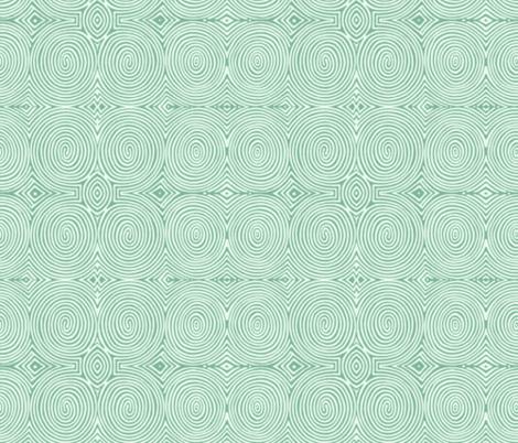 pistachio spirals fabric by wren_leyland on Spoonflower - custom fabric