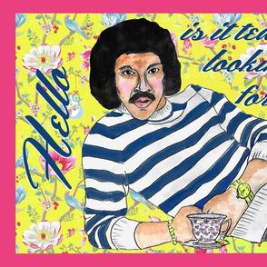 Lionel Richie Tea Towel