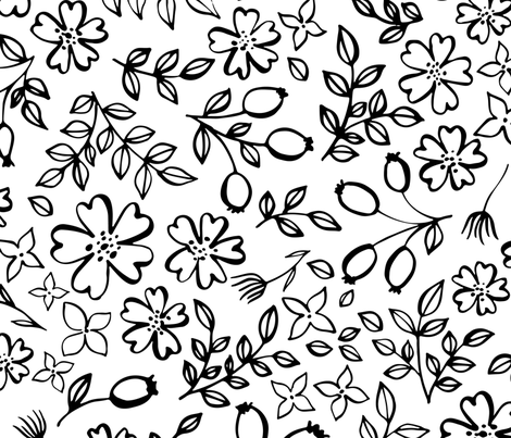 Romance fabric by ldpapers on Spoonflower - custom fabric