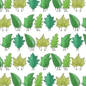 Leaf Forest Friends