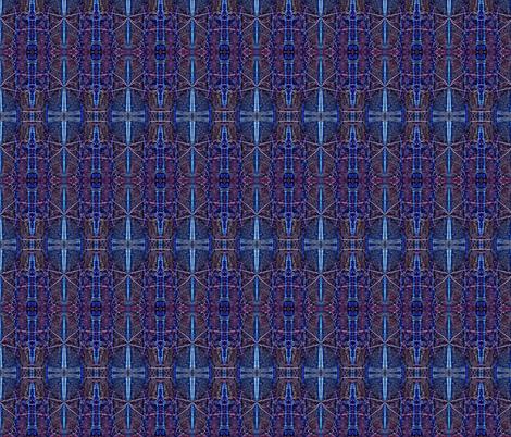 Midnight Gates fabric by twigsandblossoms on Spoonflower - custom fabric