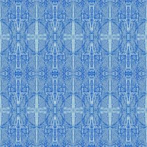 Sky blue gates