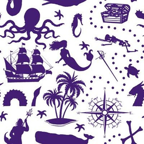 High Seas Adventure // Dark Purple