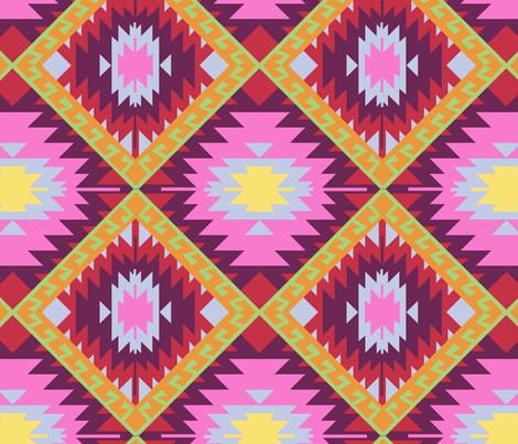Kilim fabric by anniewilsey on Spoonflower - custom fabric