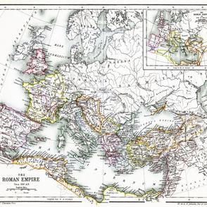 """Roman Empire 350 AD (42""""W)"""