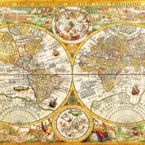 "1594 World Map (56"")"
