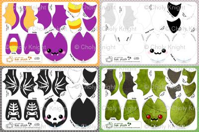 Cut & Sew Bat Plush Bundle Halloween