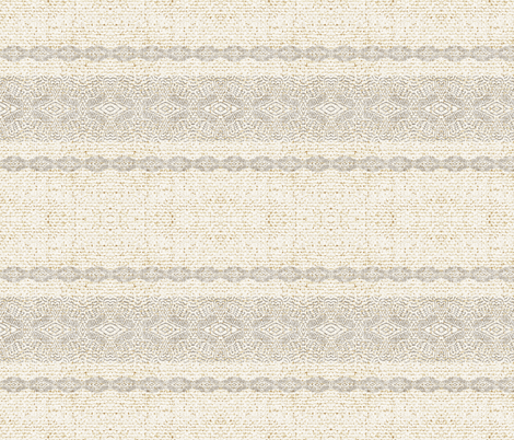 EARTHEN BOHO STRIPE fabric by holli_zollinger on Spoonflower - custom fabric