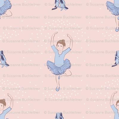 little brown eyed ballerina