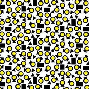Lightening Bugs in Yellow