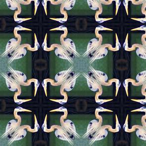 pairin' heron