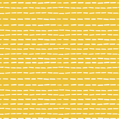 Dashed Lines on Mustard Yellow