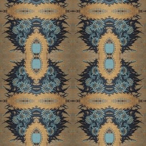 Golden Victorian Book Cover
