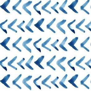 Painted Arrows // Light Blue