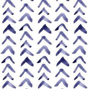 Paint Arrows // Blue-Violet // Vertical