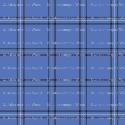 Blue Scot Plaid