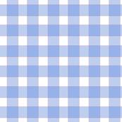 Blue, White, Orange Check - Medium Scale