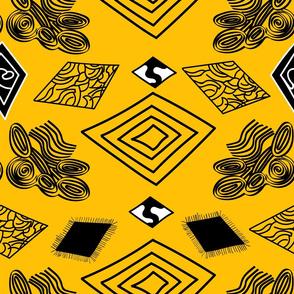 Yellow-and-Black-Diamonds