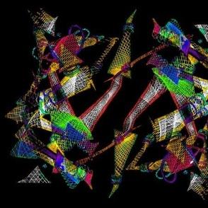 Fabric Robotic Print