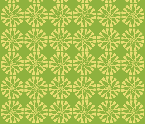 Parsnip Pattern fabric by lehoux_art on Spoonflower - custom fabric