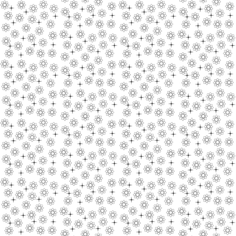 Atomic Black and White fabric by betz on Spoonflower - custom fabric