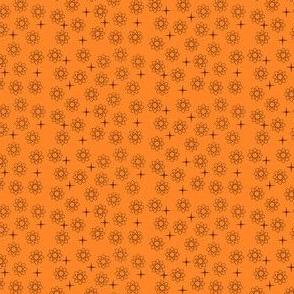 Atomic Black and Orange