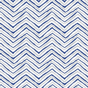 zig zag navy grey gray chevron stripes
