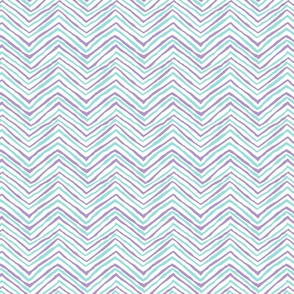 zig zag purple aqua chevron stripes