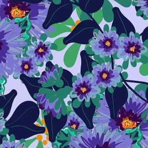 Cornflowers, Periwinkle Blue