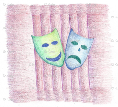 Center Stage - Theatre Masks