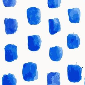 watercolor blue square
