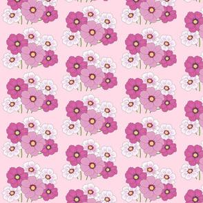 Mauve Floral Garden Print