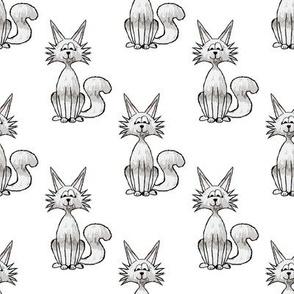Roxy Cat Gray