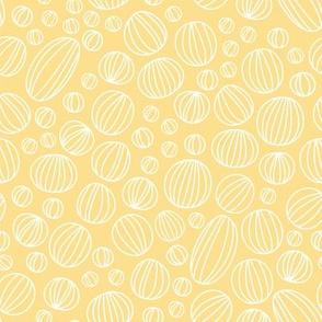 Geo Circles - Yellow