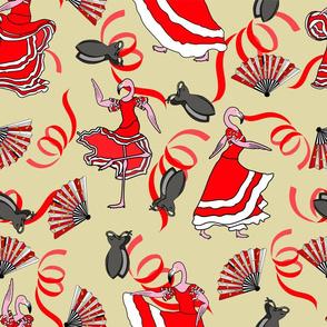 flamenco flamingos