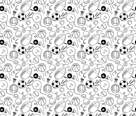 balls fabric by natalia_gonzalez on Spoonflower - custom fabric