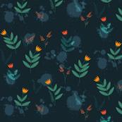 Moonlight florals