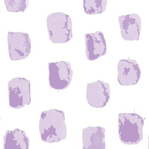 Watercolor abstract purple square