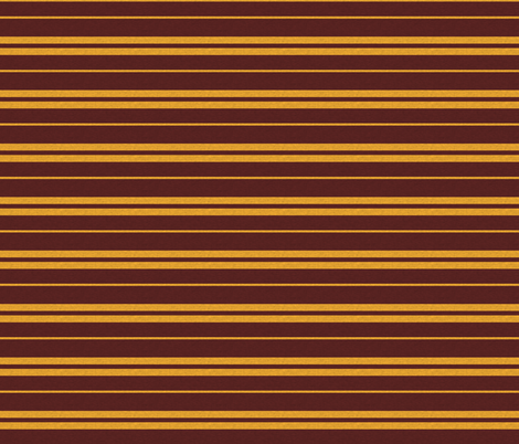 Tie Stripe in Gold And Burgandy with Texture fabric by sugarpinedesign on Spoonflower - custom fabric