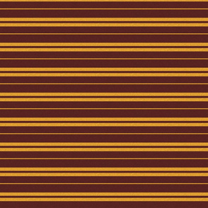 Tie Stripe in Gold And Burgandy with Texture