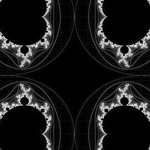 White Linear Mandelbrot