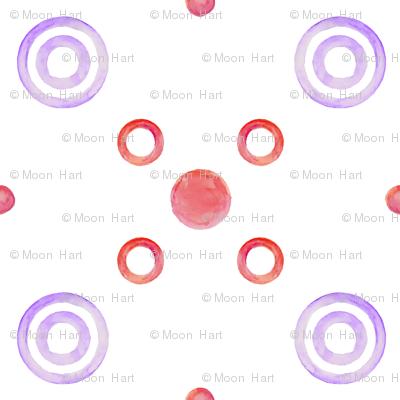 purple targets