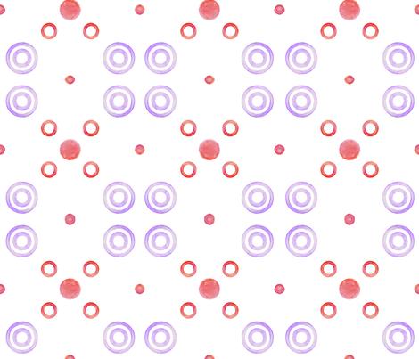 purple targets fabric by moon_hart on Spoonflower - custom fabric