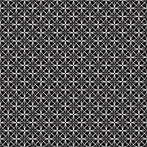 Black and White Starbursts