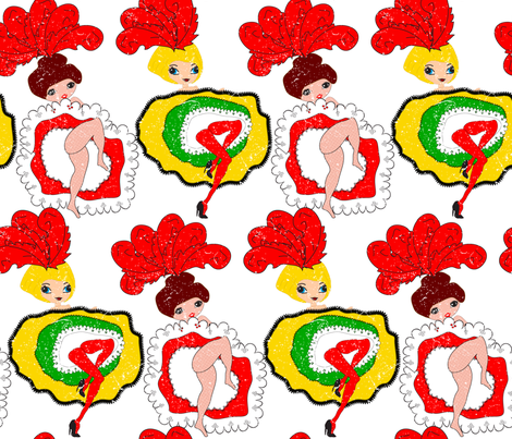 Can Can fabric by orangefancy on Spoonflower - custom fabric