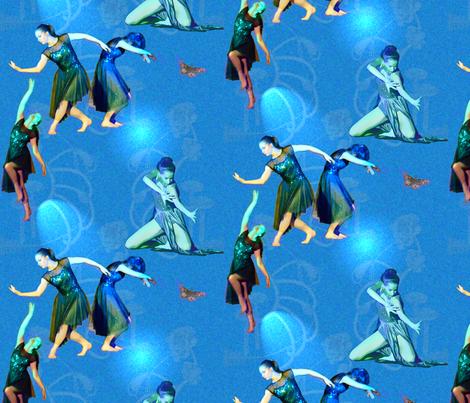 Facets of Modern Dance Onstage fabric by nancy_lee_moran_designs on Spoonflower - custom fabric