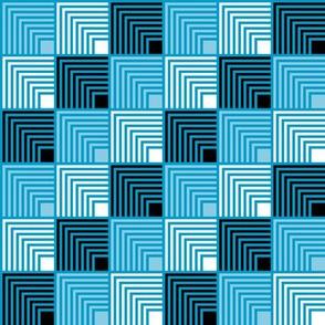 Concentric Frame - Pop Blue B