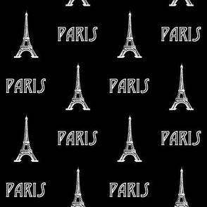 Paris // Black